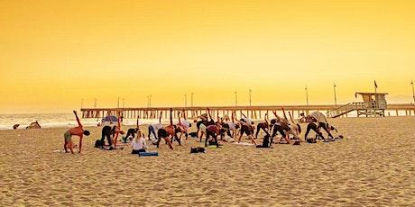 Sunset Beach Yoga for all levels (Venice beach) tickets