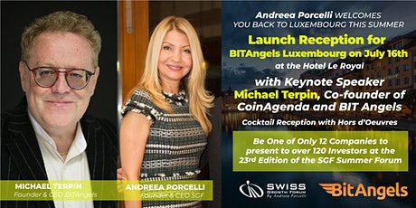 Cocktail Reception for BITAngels Luxembourg on July 16th Tickets