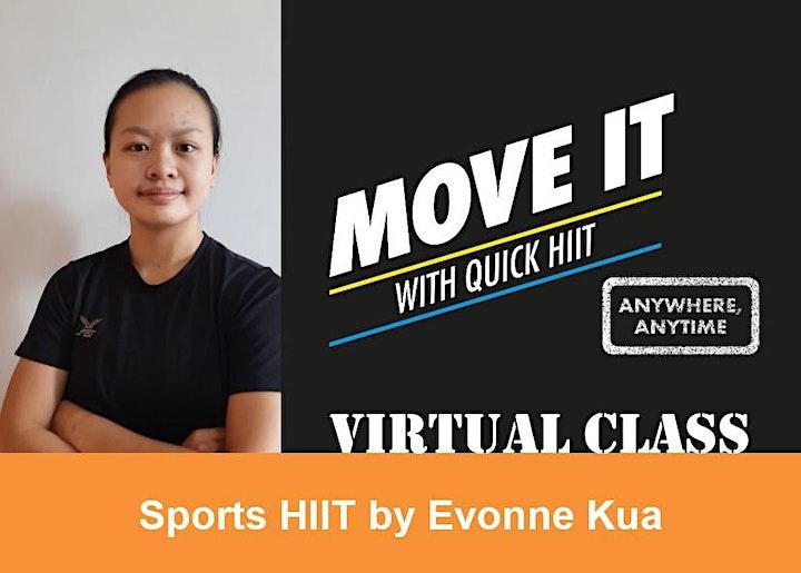 Quick HIIT Virtual - SPORTS HIIT image