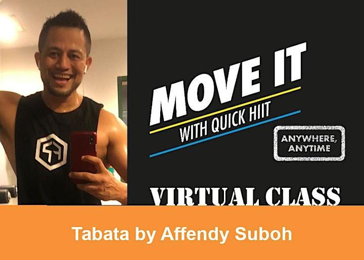Quick HIIT Virtual - TABATA image