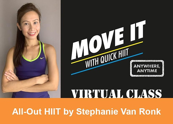 Quick HIIT Virtual - ALL-OUT HIIT image