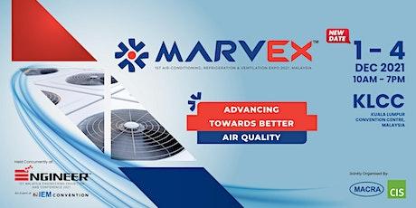 MARVEX 2021 - 1st Air-Conditioning, Refrigeration & Ventilation EXPO 2021 tickets