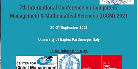 7th International Conference on Computers, Management (ICCM) 2021 biglietti