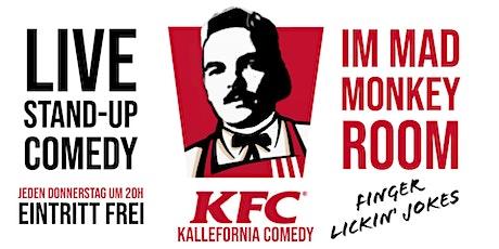 LIVE  Comedy & Musik  • P-Berg • 20 Uhr • Kallefornia Comedy • Tickets