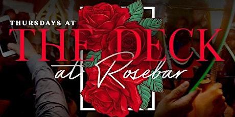The Deck Thursdays At Rosebar DC tickets
