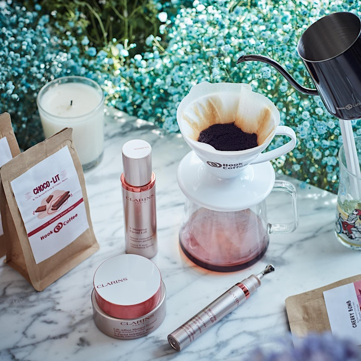 Clarins x HOOK Coffee: Specialty Coffee Appreciation  [FULLY REDEEMABLE] image