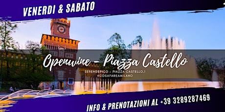 Open Wine in Piazza Castello biglietti