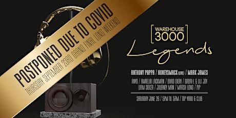 Warehouse3000 presents Legends tickets