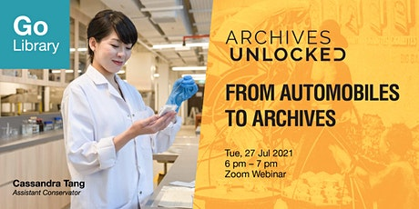 Archives Unlocked: From Automobiles to Archives tickets