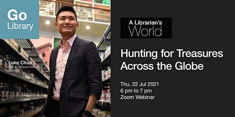 A Librarian's World: Hunting for Treasures Across the Globe tickets