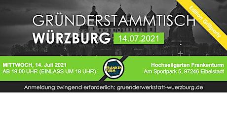 Gründerstammtisch Würzburg Edition Grillparty 14.07.2021 Tickets