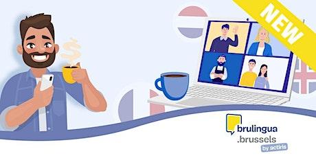 Café-langues virtuel - Débutant (EN) billets