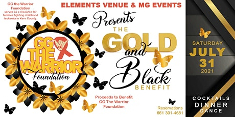 "Gold & Black ""GG The Warrior"" Fundraiser tickets"