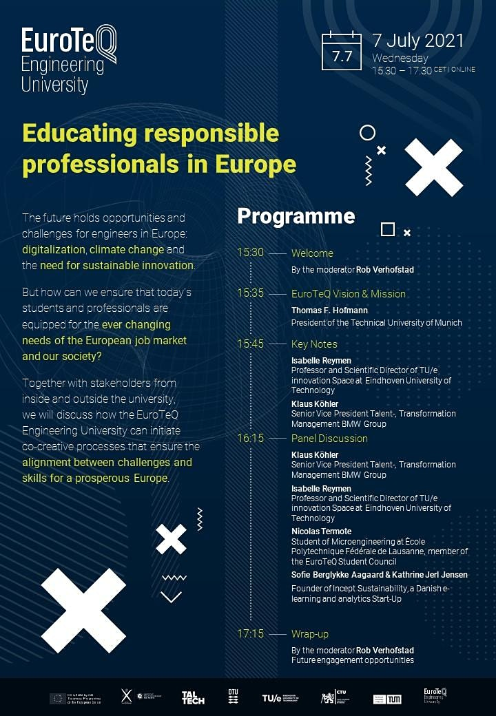 EuroTeQ – Educating responsible professionals in Europe image