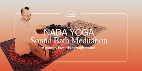 Nada Yoga | Sound Bath Meditation tickets
