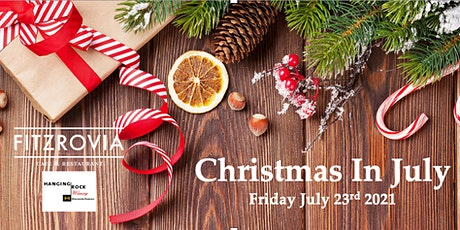 Fitzrovia's annual Christmas in July dinner tickets