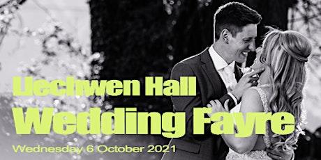 Llechwen Hall Hotel Wedding Fayre  - Wednesday evening 6th October 2021 tickets