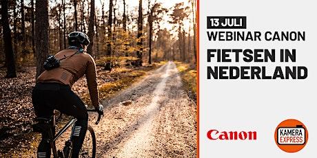 Webinar Canon - Fietsen in Nederland tickets