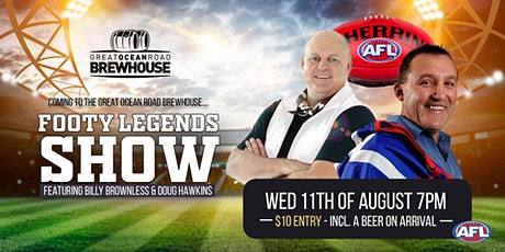 Footy Legends Show ft. Billy Brownless & Doug Hawkins tickets