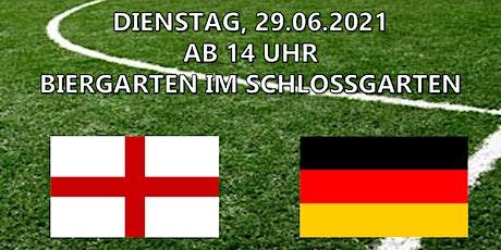 EM Liveübertragung Achtelfinale - England vs. Deutschland Tickets