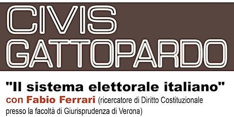 CIVIS GATTOPARDO  - Il sistema elettorale italiano biglietti