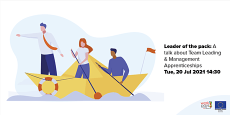 Leader of the pack: A talk about Team Leading & Management Apprenticeships tickets