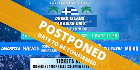 Greek Island Paradise U18s tickets