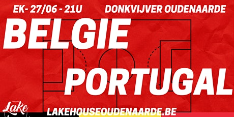 EK Belgie - Portugal billets