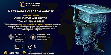 Copy of GCA presents : Cutting-Edge Alternative To A Master's Degree. tickets