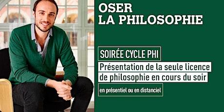 Soirée Cycle Phi tickets