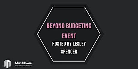 Beyond Budgeting tickets