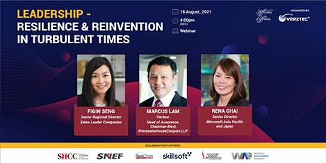 Leadership - Resilience and Reinvention in Turbulent Times entradas