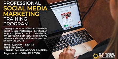 Professional Social Media Marketing Training Program tickets