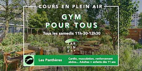 Les Panthères / Cours de gym, Fitness pour tous, tous les samedis billets