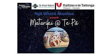 Tangaroa - Matariki Mahi Toi Session 1 tickets