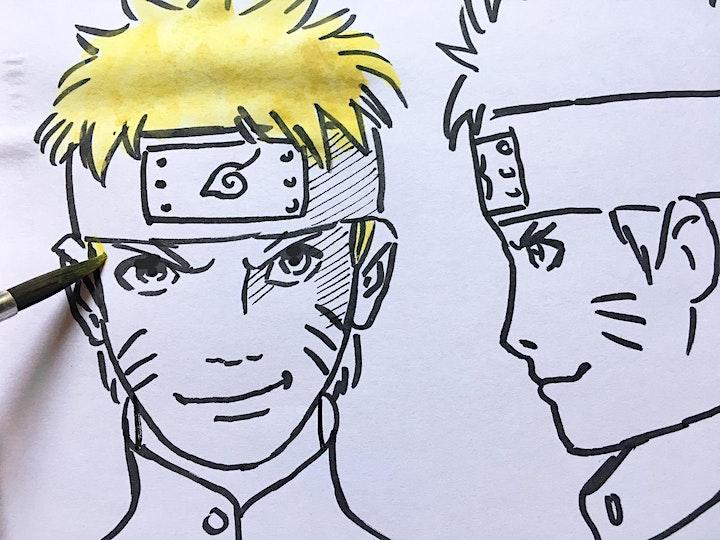 Online-Workshop I Manga Zeichnen I Für Jugendliche von 11-16 Jahren: Bild