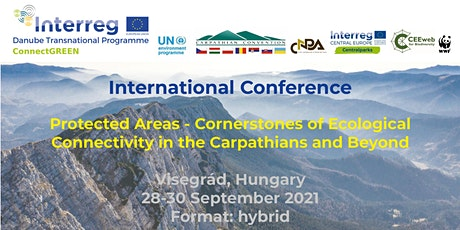 Cornerstones of Ecological Connectivity in the Carpathians and Beyond tickets