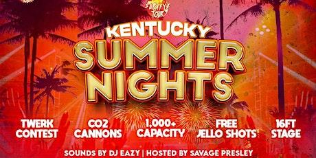 Kentucky Summer Nights : KrispyLife Kidd, Bblasian, $lowbucks + More LIVE tickets