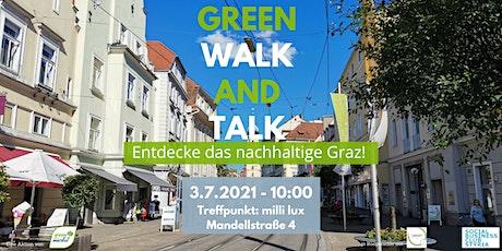 LIVE - green walk and talk  - DER nachhaltige Stadtspaziergang durch Graz Tickets