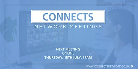 Connects Network Meeting - July 2021 tickets