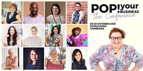 Pop Your Business Conference - Business Growth with Integrity and Intention tickets