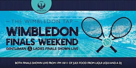 Wimbledon Tennis Finals Weekend tickets