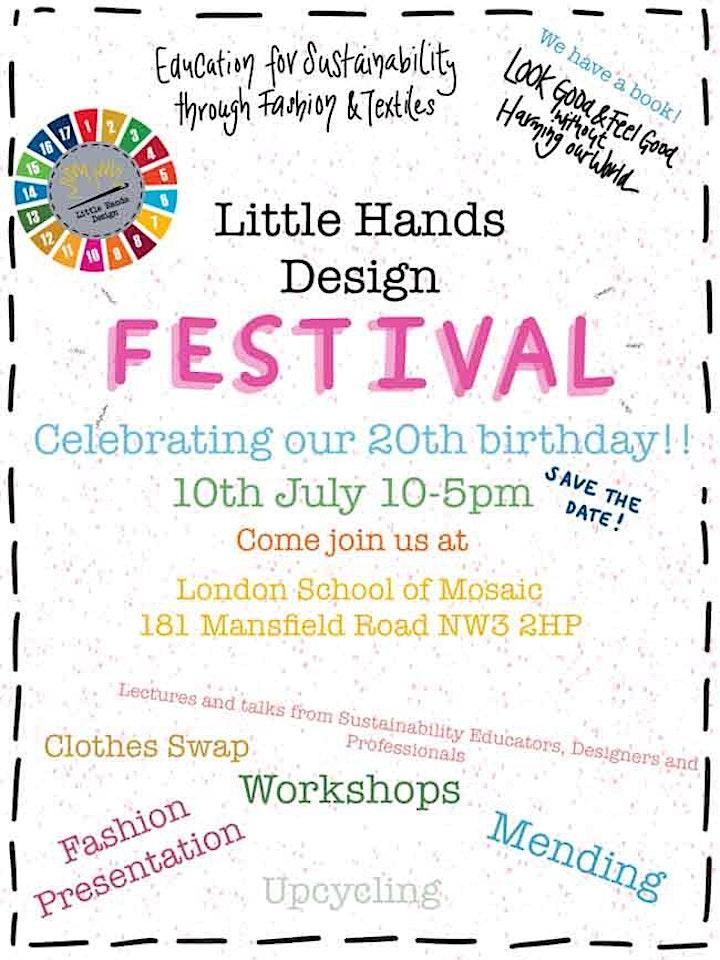 Little Hands Design Festival- 20th Birthday Celebration! image