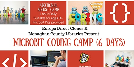 Additional Microbit Coding Camp (9.30am Sessions) tickets