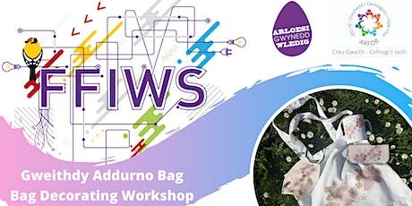 FFIWS - Gweithdy Dylunio Bag / Design a Bag Workshop tickets