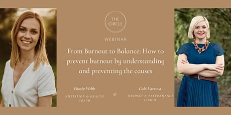 From Burnout to Balance: How to prevent burnout. tickets