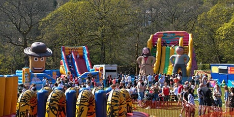 MEGA INFLATABLE FUN WEEKEND 10 to 11 JULY Brookdale Park tickets