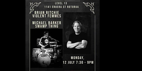"""Brian Ritchie """"Violent Femmes"""" and Michael Barker """"Swamp Thing"""" tickets"""
