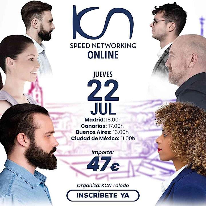 Imagen de KCN Toledo Speed Networking Online 22 Jul