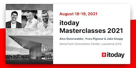 itoday Masterclasses 2021/ Design Sprint / Invincible Company Masterclasses billets